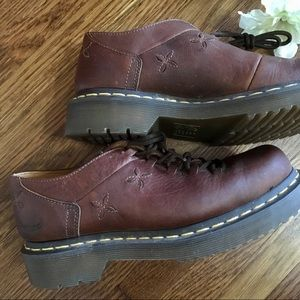 Shoes - Brown Daisy Dr. Martens Womens 6 grunge